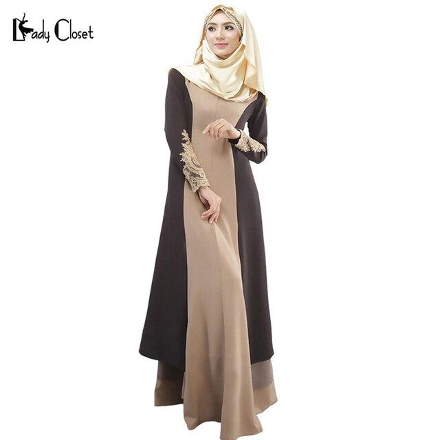 Турецкие женщины одежда мусульманин платье исламский абая джилбаба абая мусульманского vestidos longos одежда хиджаб дубай кафтан лонго giyim