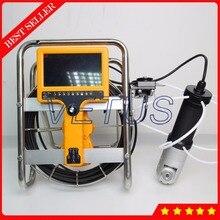 VT-140R 40 м 360 градусов вращения Камера DVR дымоход инспекции Камера с счетчик функция промышленные печи инспекции