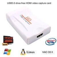 1080p USB 3 0 HD Game Video Capture Card Live Streaming Record TV VCR DVD AV