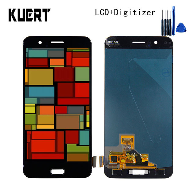 """KUERT 5.5"""" High Quality Touch Screen Digitizer LCD Display Assembly For OnePlus 5 Five A5000 1920*1080 Free shipping"""