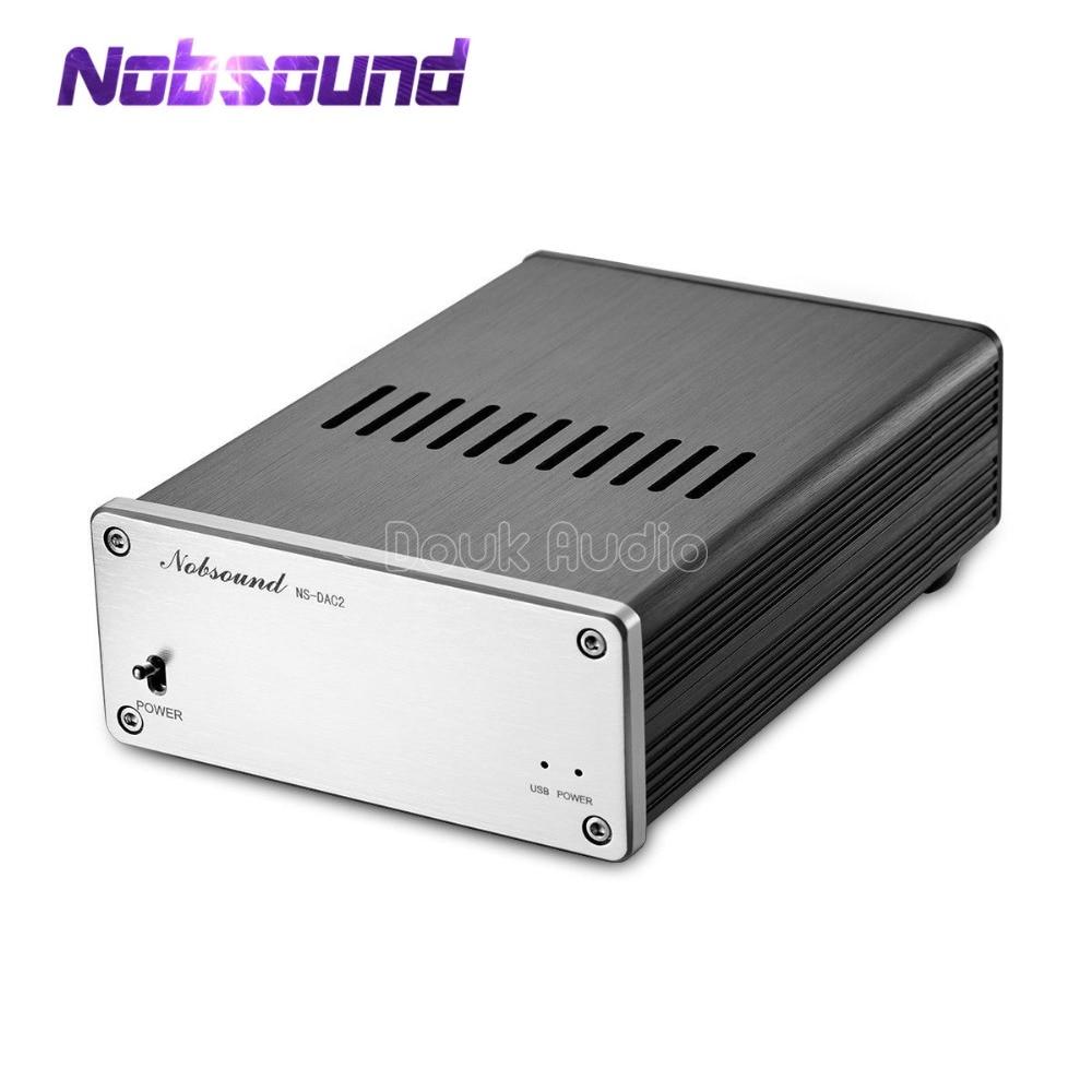 2018 Interface de DAC Audio numérique Nobsound XMOS USB à coaxiale/optique/I2S/AES DSD prise en charge de la Transmission asynchrone 32B 384 khz