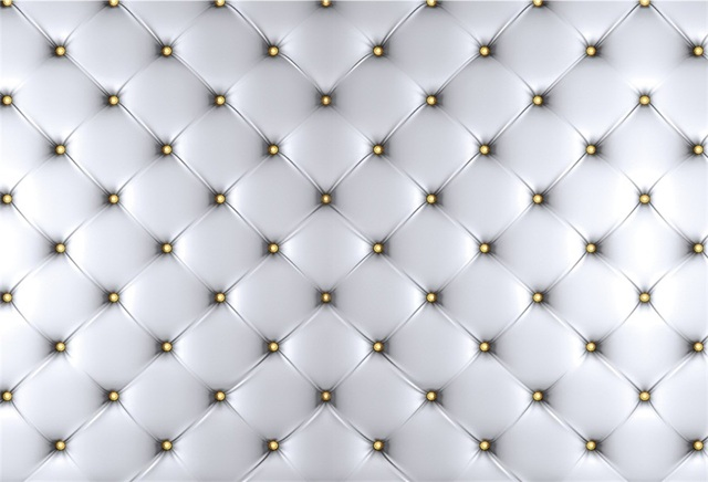 Laeacco Silver Headboard Surface Sofa Leather Diamond Party Pattern Baby Photo Backgrounds Photographic Backdrops Photo Studio