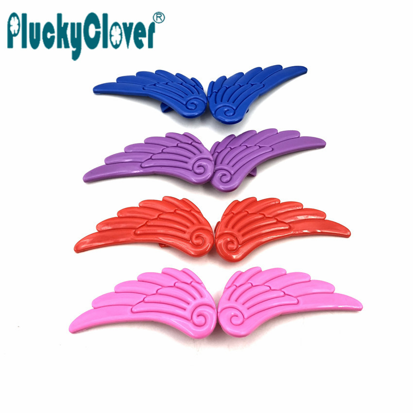 2 pcs/pair Blue Purple Red Pink Decoration Wing For Inline Skates, Quad Skates ,Skating Shoes Colorful Ornament Angle Wing Kids