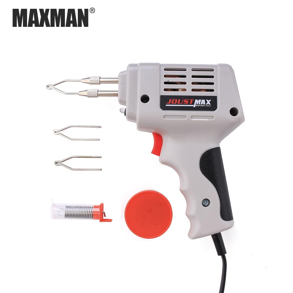 MAXMAN 220 v Zinn Lötkolben Gun Zubehör Manuelle Zinn Gun Saug-Zinn Gerät Elektrische Schweißen Gun Werkzeug Automatische