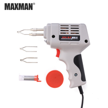 MAXMAN 220V Tin  Soldering Iron Gun Accessories Manual Tin Gun Suction Tin Device Electric Welding Gun Tool  Automatic цены