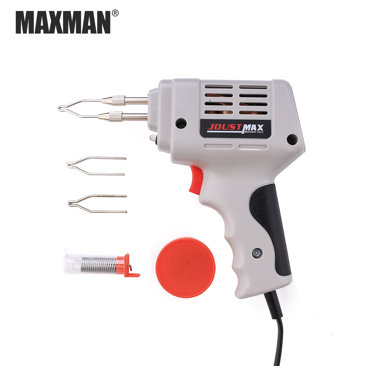 MAXMAN 220V Tin Soldering Iron Gun Accessories Manual Tin Gun Suction Tin Device Electric Welding Gun Tool Automatic