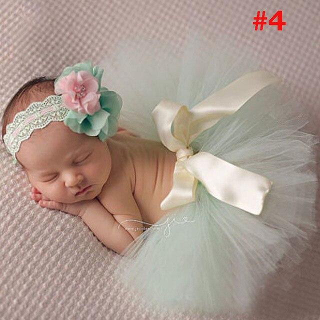 Tutú recién nacido Faldas y Diadema set chica foto princesa Faldas + ...