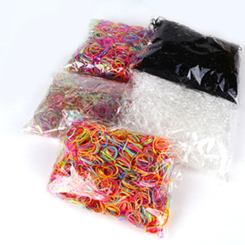 About 1000pcs/bag (small package) 2015 New Child Elastic Rubber Bands Baby Girl's TPU Hair Holders Tie Gum Hair Accessories 10pcs lot baby girls colorful mini ring elastic hair bands tie gum for hair ponytail holder rubber bands kids hair accessories