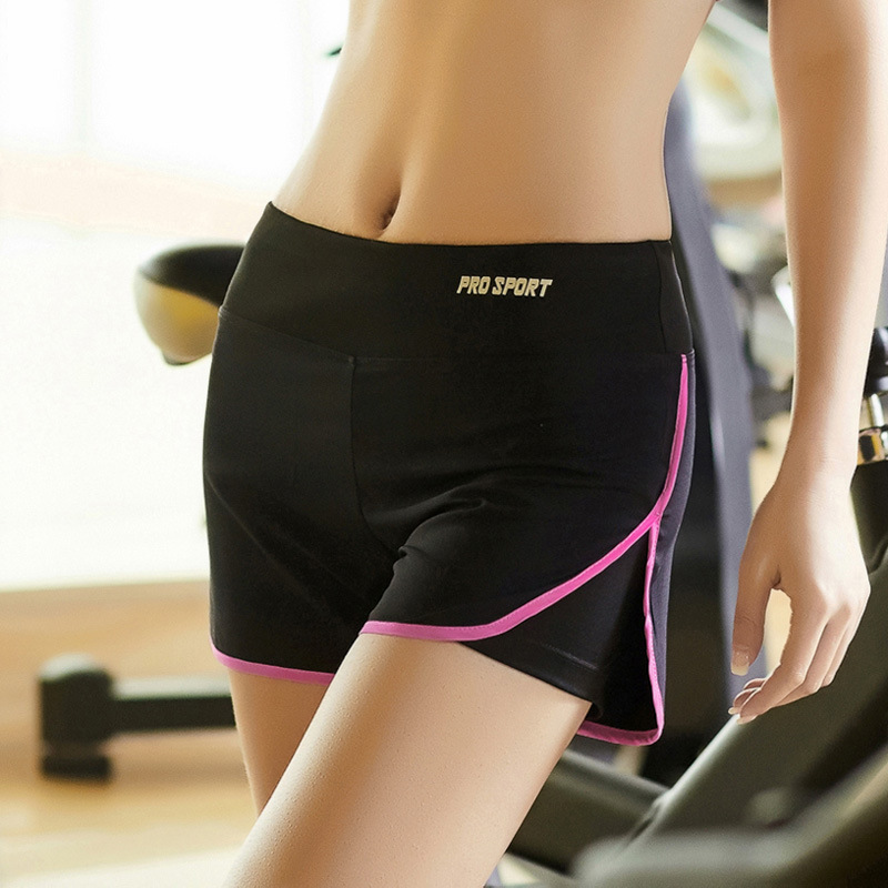 Woman Yoga sports fitness shorts outdoor running gym speed dry shorts title=