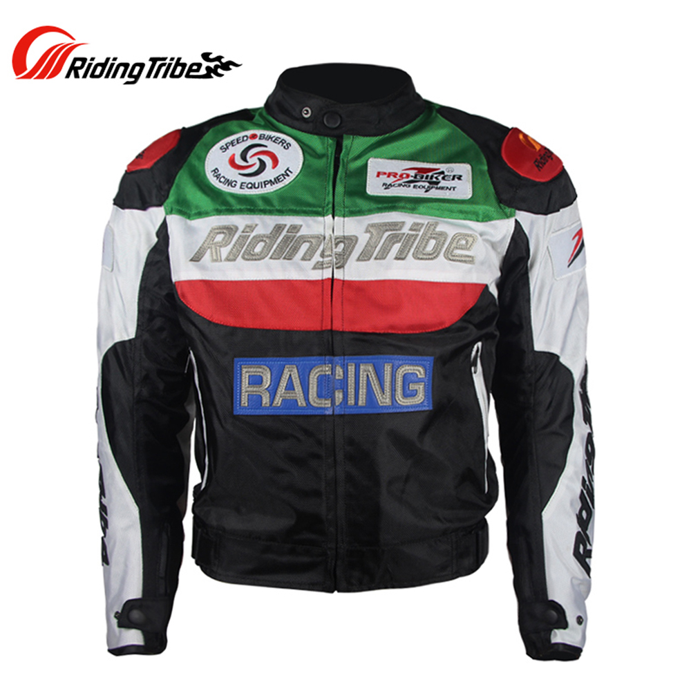 Riding Tribe Motorcycle Jacket Windproof Riding Jacket Motocross Off-Road Racing Sports Jacket Clothing with Protector Guards цена
