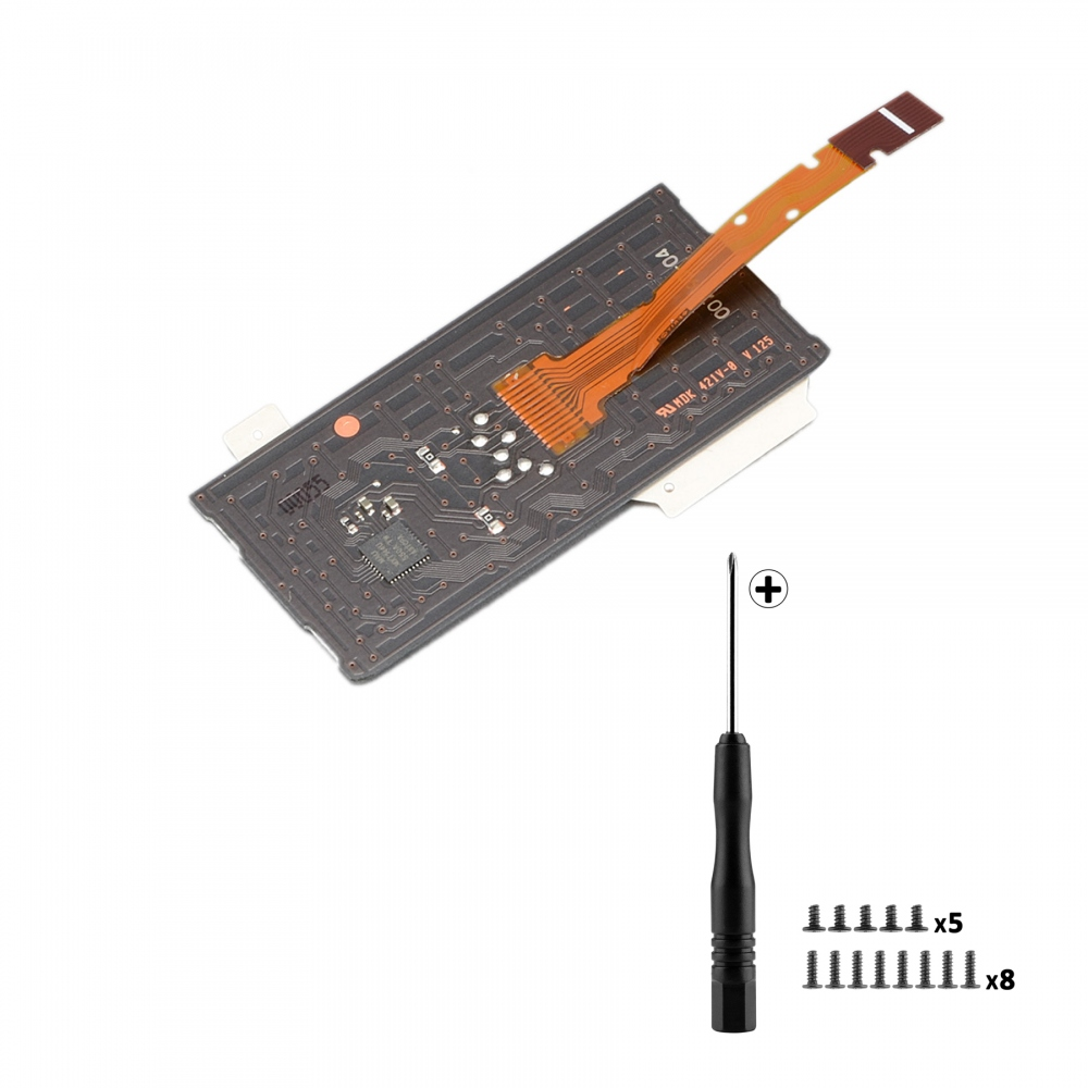 Touchpad Board Touch Ribbon Flex Cable w/ Screwdriver Screws For PS4 Pro JDM-040