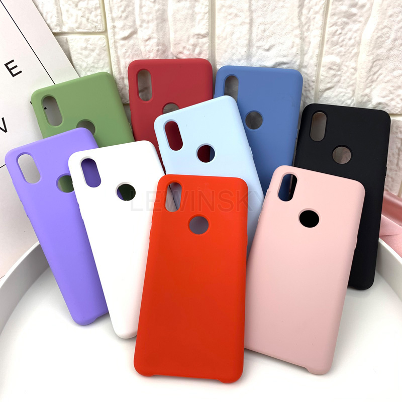 Liquid-Silicone-Case 3-Pro case 8-Lite Xiaomi Redmi Note-5 Original 5-Plus 6A for K20
