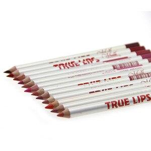12pcs/Set Waterproof Lip Liner