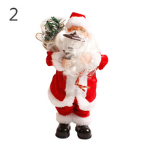 Christmas Electric Santa Claus Toys with Music Fashion Home Christmas Decoration Amazing Gift  HG99