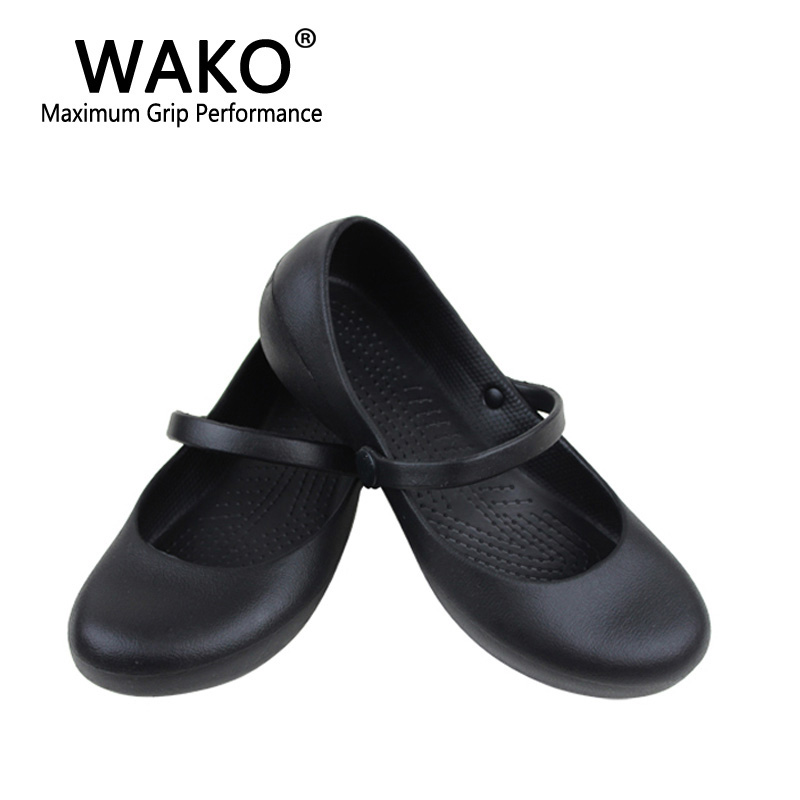 WAKO Professional Chef Work Anti Slip EVA Surgical Shoes Women Cook Kitchen  Shoes Black Shoes For Ladies In Womenu0027s Flats From Shoes On Aliexpress.com  ...