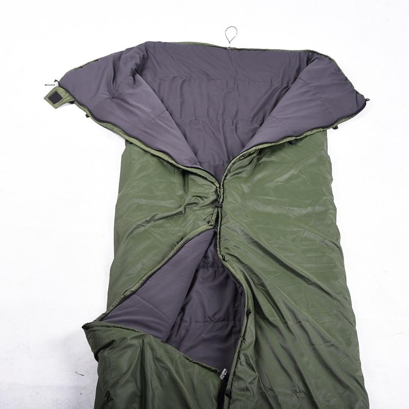 Image 3 - VILEAD Portable Hammock Sleeping bag Ultralight Waterproof Camping Hiking Outdoor Sleep Bed Adult Survival Winter Bed Bag Travel-in Sleeping Bags from Sports & Entertainment