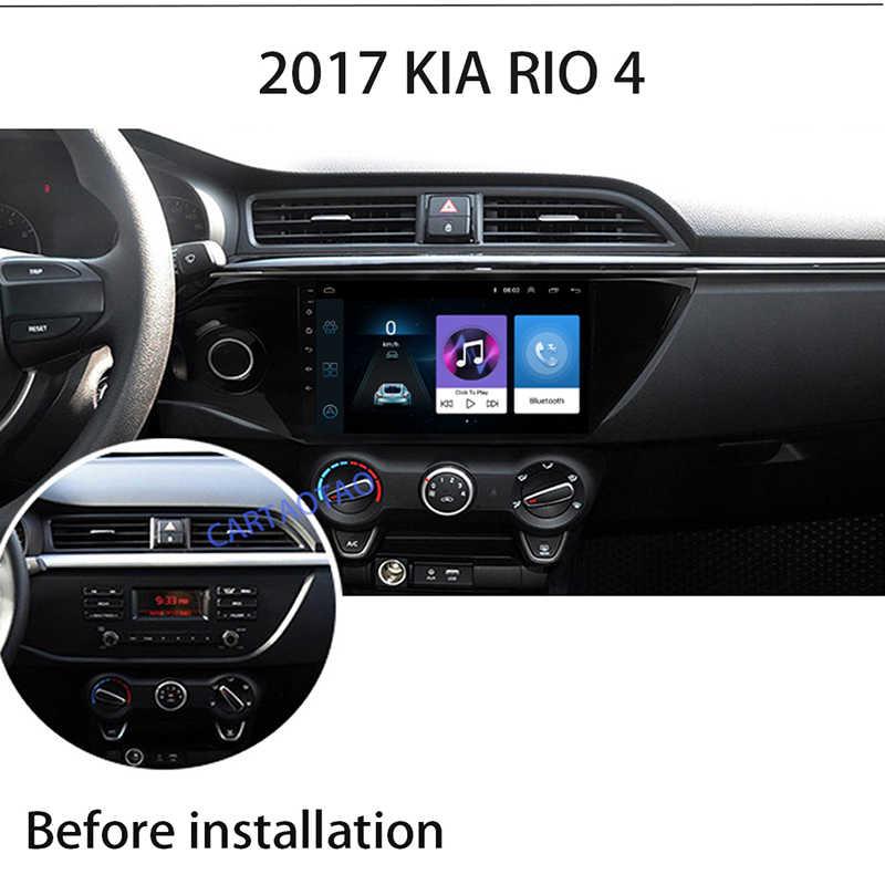 Android 8,1 2din автомобильный радиоприемник gps навигации мультимедийный плеер для Kia RIO 3 4 Rio 2010 2011 2012 2013 2014 2015 2016 2017 2018 gps