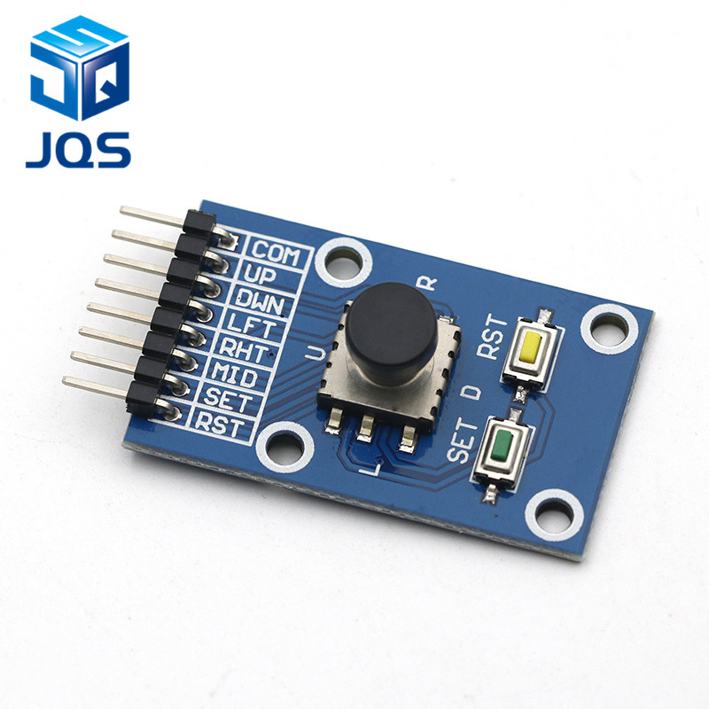 Five Direction Navigation Button Module for MCU AVR Game 5D Rocker Joystick Independent Keyboard for Arduino Joystick ModuleFive Direction Navigation Button Module for MCU AVR Game 5D Rocker Joystick Independent Keyboard for Arduino Joystick Module