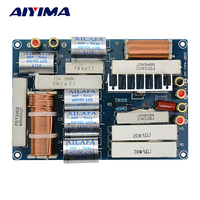 AIYIMA Professional Speakers Frequency Divider Crossover Audio Filter 600W Two Ways Subwoofer Tweeter DIY For Stage Home Theater