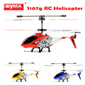 Syma S107G 3.5CH Gyro Radio Indoor Mini RC Helicopter Built in Gyroscope Remote Control Aircraft Drone Red Blue Yellow