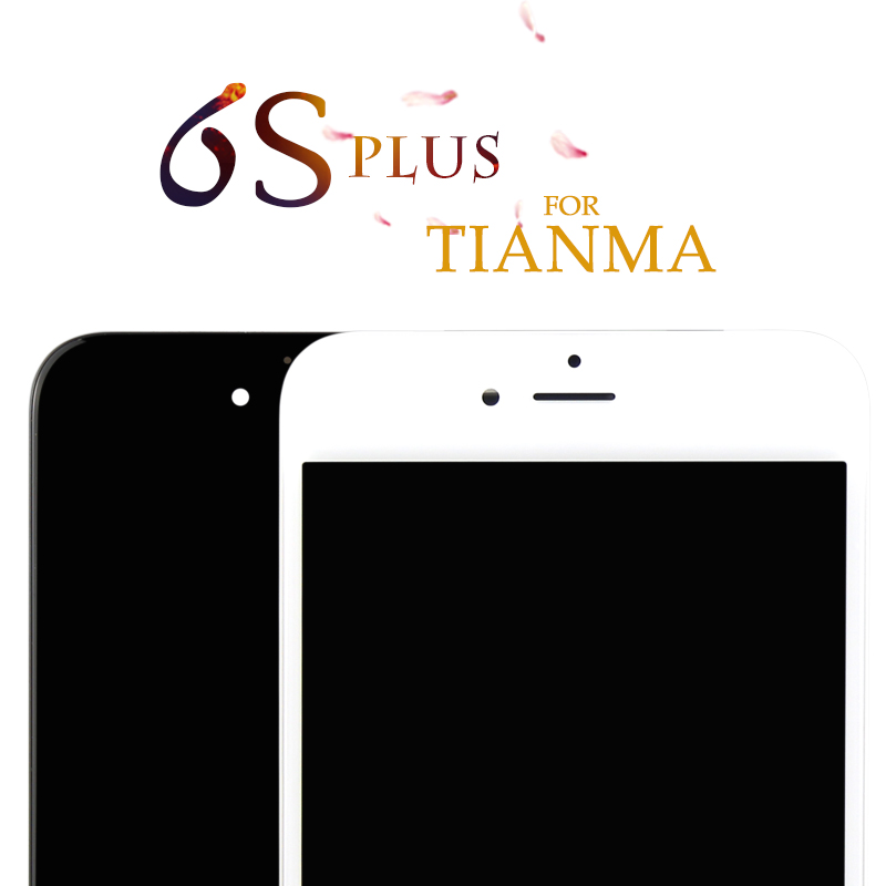 5pcs For Iphone 6S Plus LCD For Tianma TOP Quality Free Gift 3D Touch Black Display