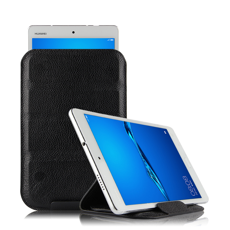 Case Cowhide Sleeve For Huawei MediaPad M3 lite 10 Protective Cover Genuine Leather For Huawei BAH-W09 BAH-AL00 L09 10.1 Tablet smart ultra stand cover case for 2017 huawei mediapad m3 lite 10 tablet for bah w09 bah al00 10 tablet free gift