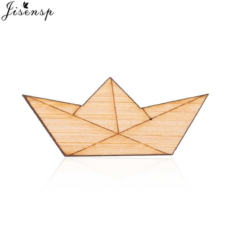 Detail Feedback Questions About Jisensp Paper Boat Brooch Pin Tie
