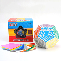 7x7x7 Professor Cube Competition Speed Magic Cube Puzzle Educational Toys for Children