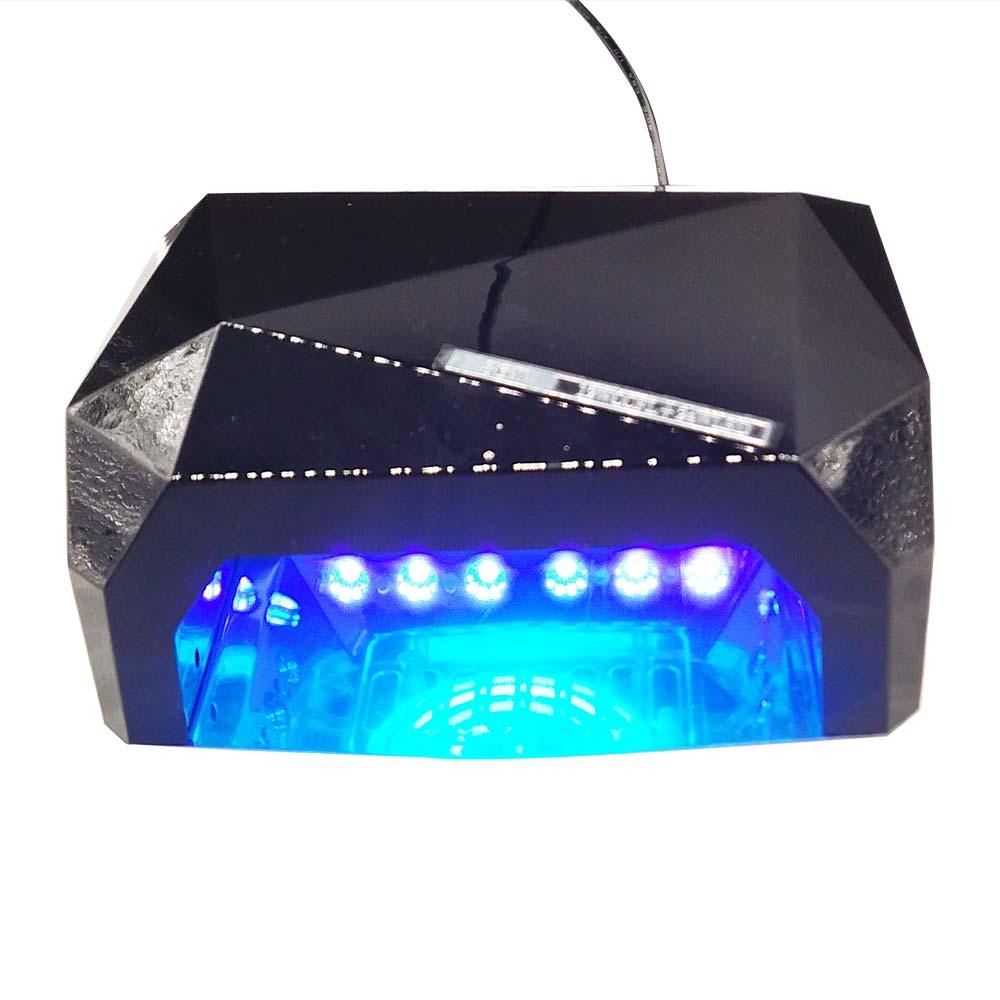Llambë ultravjollcë 36W + dritë ultraviolet UV tharëse gozhdë - Art thonjsh - Foto 4