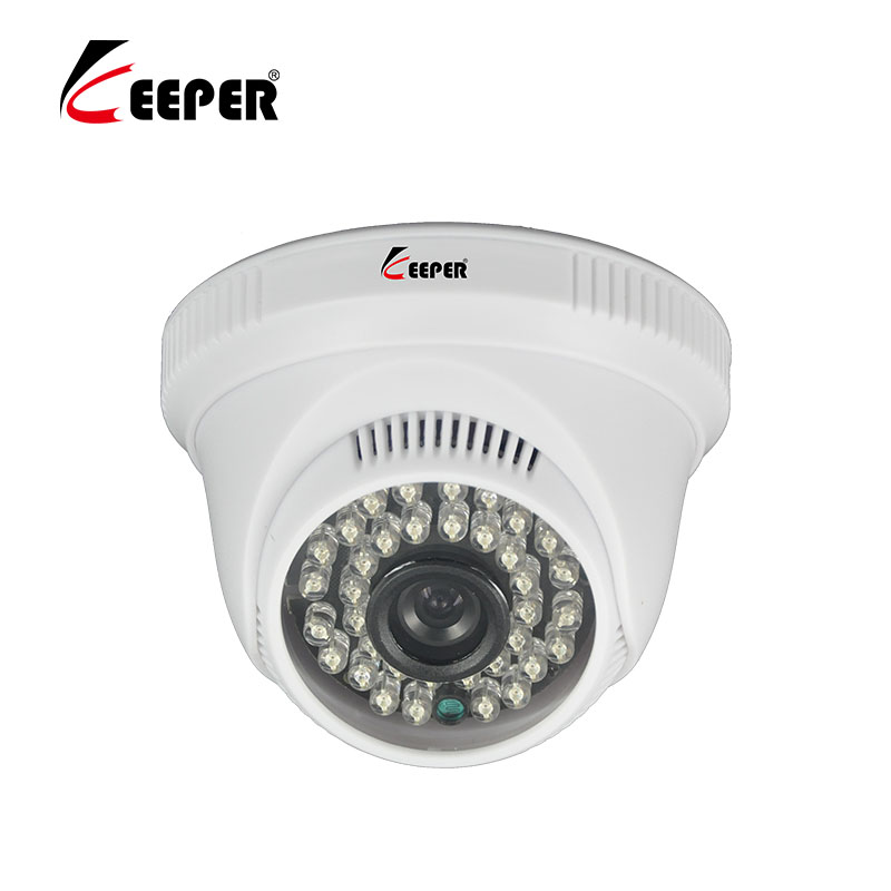Keeper 720P 1.0MP AHD Indoor Plastic Security Surveillance HD Dome CCTV Camera