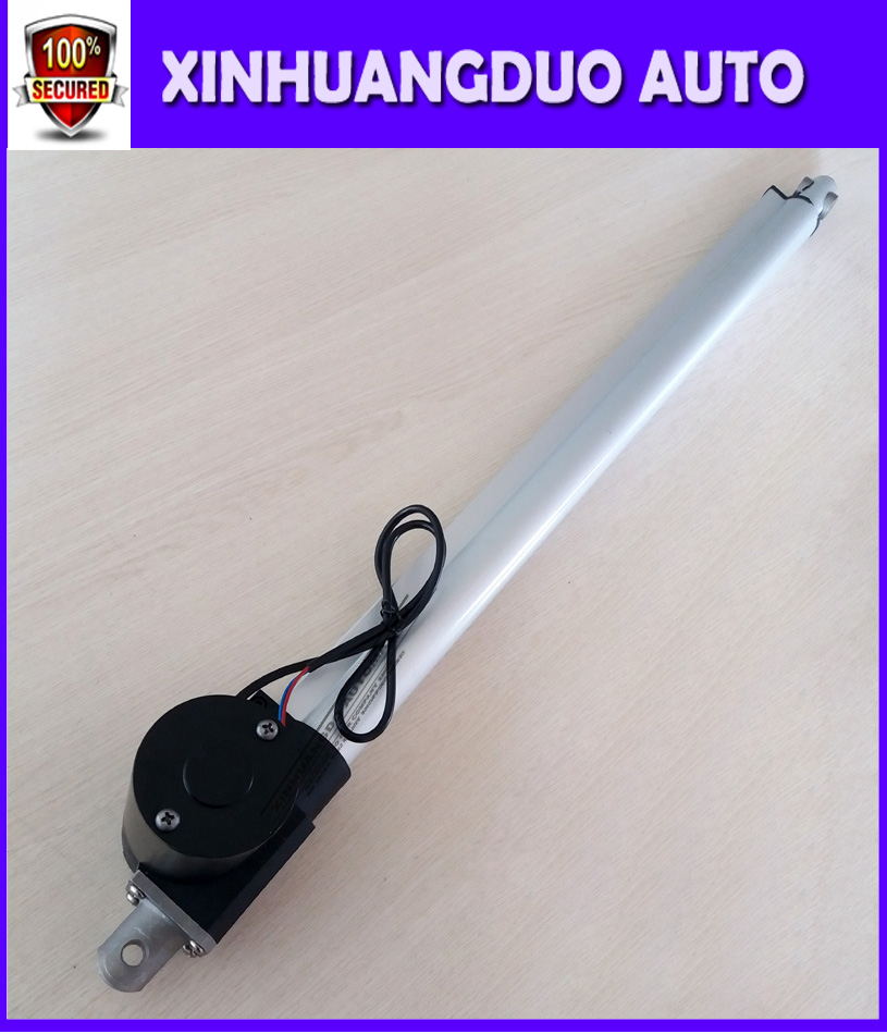 Electric Motor Bracket DC 12V 1000N Stroke 150-500mm Linear Actuator Lift Water-Resistant Durable Electric Linear 200mm