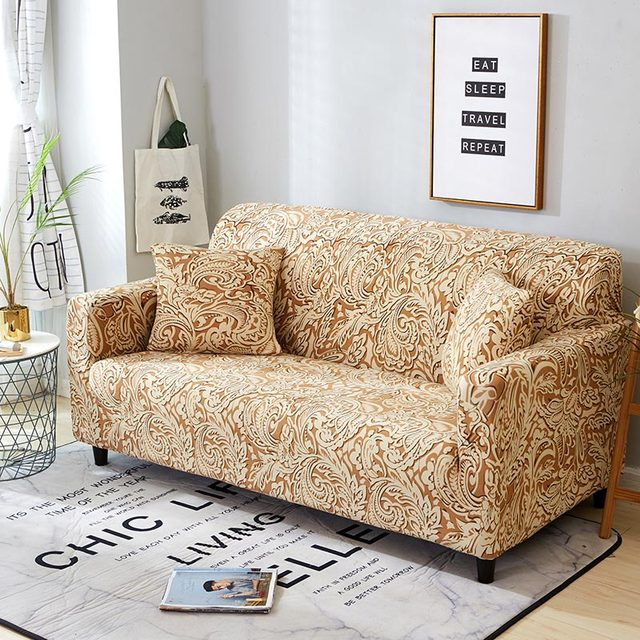 Outstanding Us 13 5 60 Off Plaid Sofa Cover Elastic Sofa Covers For Living Room Loveseat Stretch Furniture Covers Slipcovers For Armchairs Couch Cover 1Pc In Andrewgaddart Wooden Chair Designs For Living Room Andrewgaddartcom