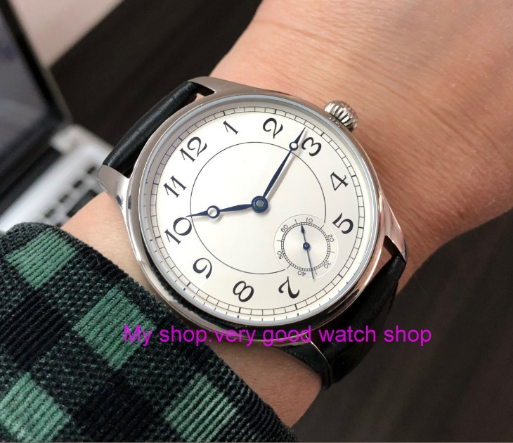 44mm parnis Asian 6498 17 jewels Mechanical Hand Wind movement mens watch Mechanical watches classic watch pa71-844mm parnis Asian 6498 17 jewels Mechanical Hand Wind movement mens watch Mechanical watches classic watch pa71-8