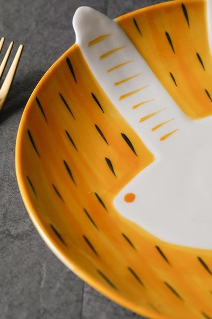 HTB1OtedEVmWBuNjSspdq6zugXXav.jpg 640x640 - tabletop-and-bar, dinnerware - Kawaii Animal Plates