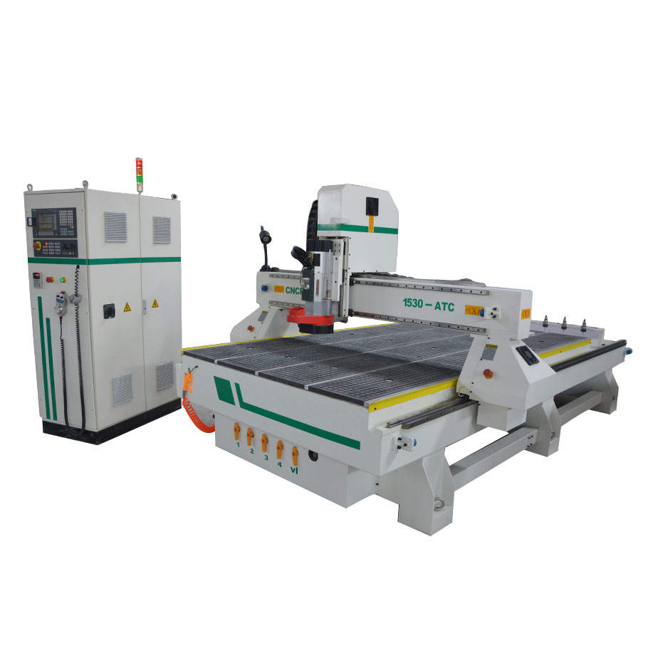 ATC Engraving/cutting Furniture Machine Cnc Router For Multi Purpose 1530 Wood Aluminum Auto Tool Changer Cnc Milling Machine