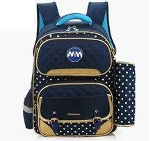 Большой емкости водонепроницаемый дети рюкзак Mochila школьный портфель с пеналом сумка для мальчиков девочки сумка ранцы школьный