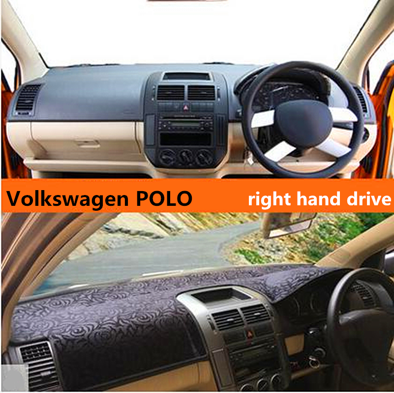 New Arrival Right Hand Dirve Luxury Style Car Dashboard Pat For Volkswagen Polo Special Light Pad 3colors