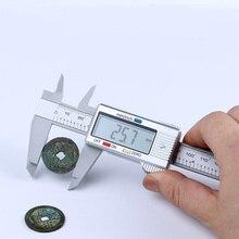 Best price New 1PCS 6inch LCD 150mm Digital Electronic Carbon Fiber Vernier Caliper Gauge Micrometer Tool Hand Tool