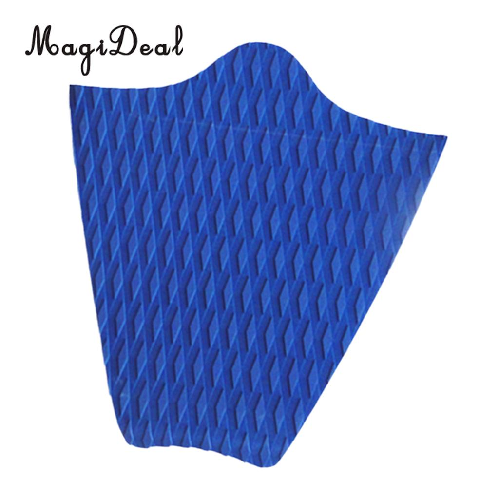 3 Pieces Surfboard Traction Pad Tail Pad MagiDeal Diamond Grooved Non-slip Black EVA SUP Paddleboard 4 Pieces Dog Traction Pad Deck Grip Mat