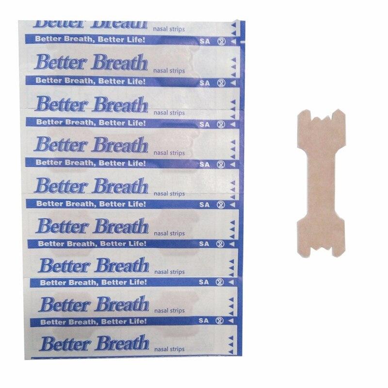 50pcs/lot Better Breathe Nasal Strips Good Sleepin