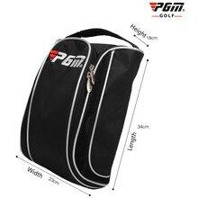 Pgm мешок для обуви для гольфа, дышащая сумка для обуви, большая емкость, портативная, общее качество