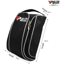 Pgm Golf Shoe Bag Breathable Shoe Bag Large Capacity Portabl