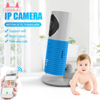 New Wireless Wifi Baby Monitor 720 IP Camera Nightvision Intercom Camera Support For IOS Android Security