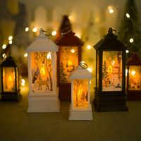 Noel grande natal conduziu a luz do chá velas ornamentos decorações de natal para casa 2020 ano novo decoração natal artesanato