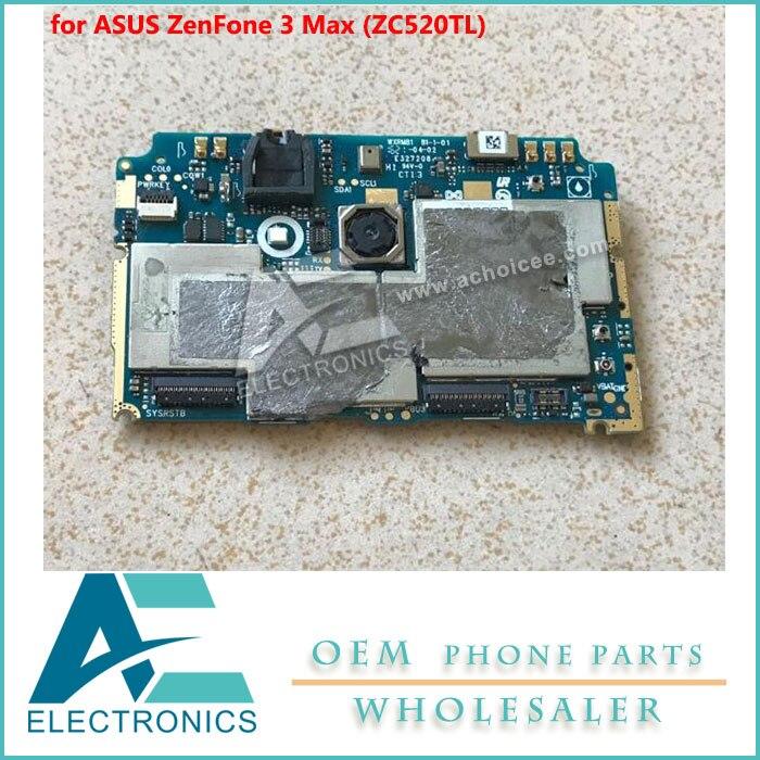 Mainboard For Asus Zenfone 3 Max  Zc520tl  Motherboard 2gb