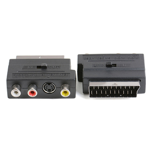 Image 4 - 21pin scart S Video/AV/TV/Audio Adapter Converter For SCART Euro plug in S terminal plus video left and right channel adapter