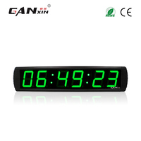 Ganxin 4 Wholesale And Remote Control Large Fashion Led Digital Clock Multifunction Count Up Countdown