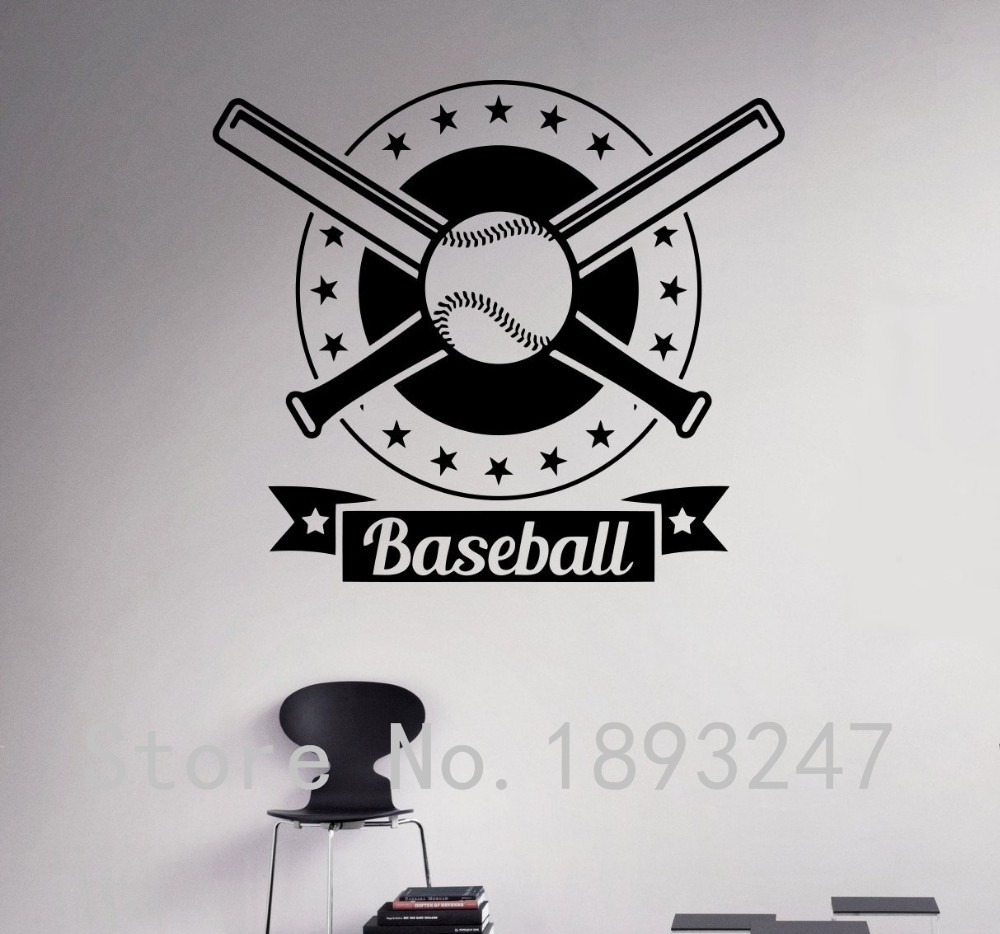 Online Get Cheap Baseball Bedroom Decor Aliexpress