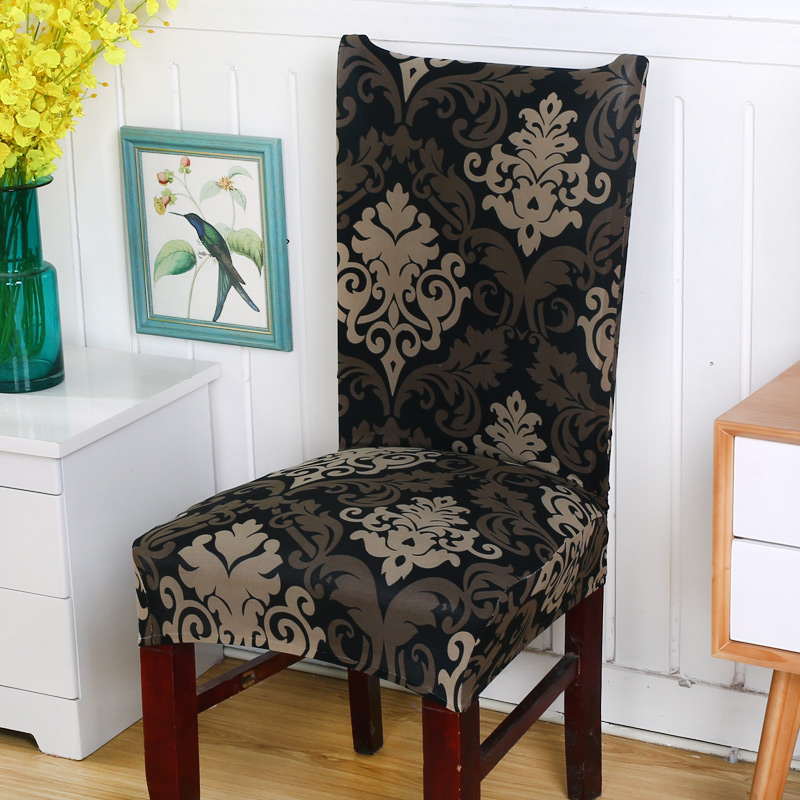 Spandex Elastic Floral Print Chair Covers Flower Printing Removable Chair  Cover Weddings Banquet Folding Hotel Chair Covers In Chair Cover From Home  ...