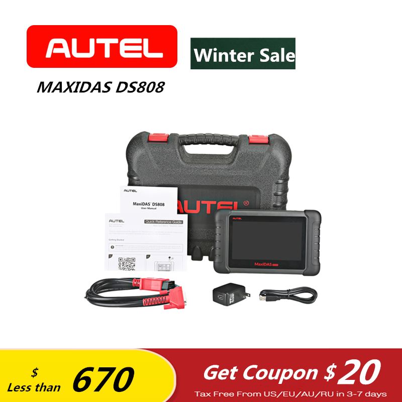 AUTEL MAXIDAS DS808 OBD2 Scanner Diagnostic Tool Au